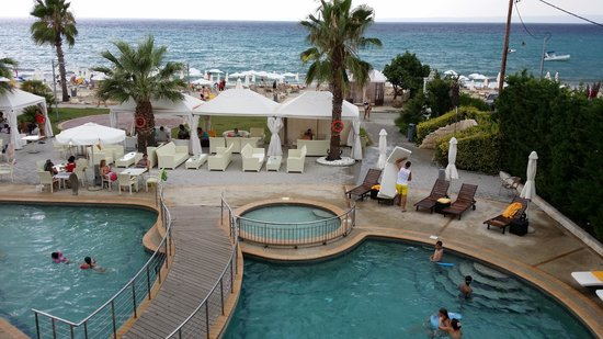 Elinotel Apolamare: from a room with sea view