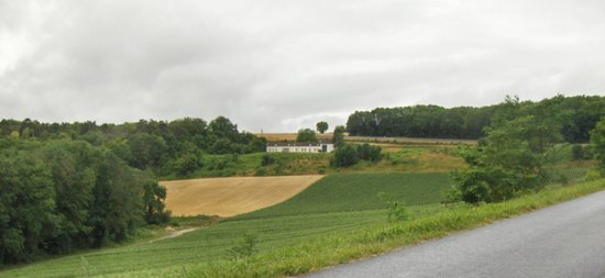 Domaine des Grattieres : From the road