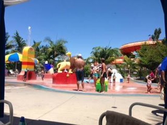 LEGOLAND California: View from our cabana