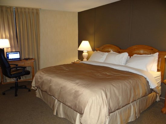 Confederation Place Hotel: Nice bed