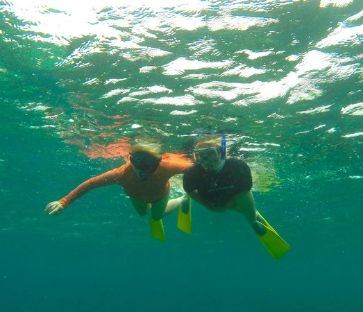 Anda De Wata Tours: My buddy and I on the snorkel tour