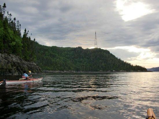 Fjord en kayak: Saguenay Fjord