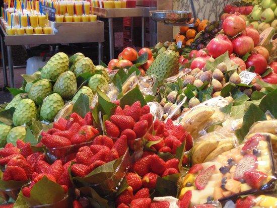 St. Josep La Boqueria: Las mejores frutas y verduras