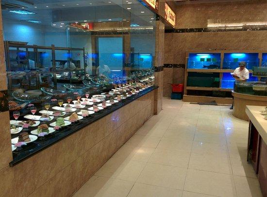 """Yonghegong Hotel: Ресторанное """"меню"""""""