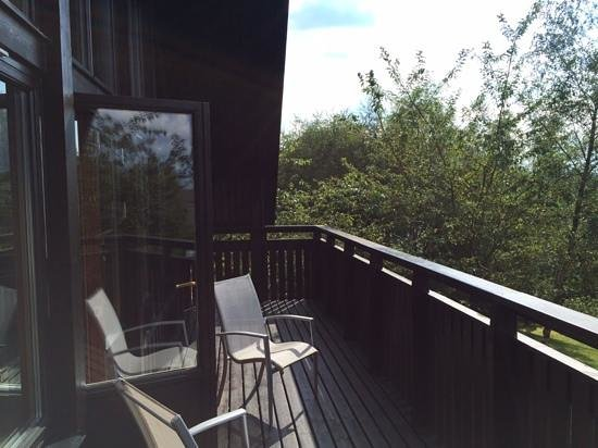 QLodges Slaley Hall: villa 3 balcolny