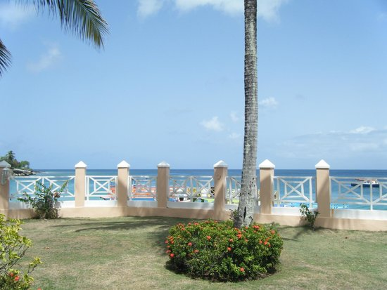 Coco Reef Tobago: View from our room