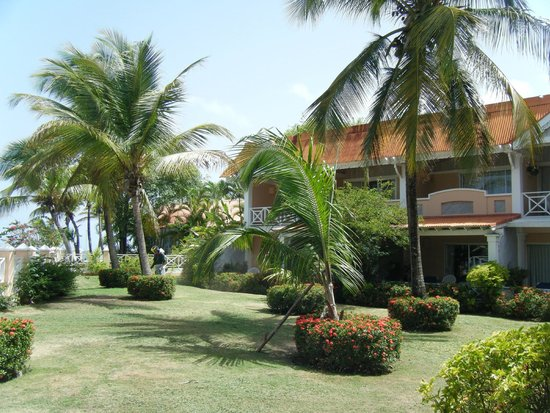Coco Reef Tobago: Outside of hotel & grounds