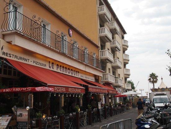 Hotel Cassitel: balkony