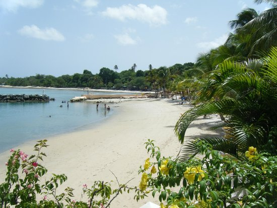 Coco Reef Tobago: The hotel's private beach