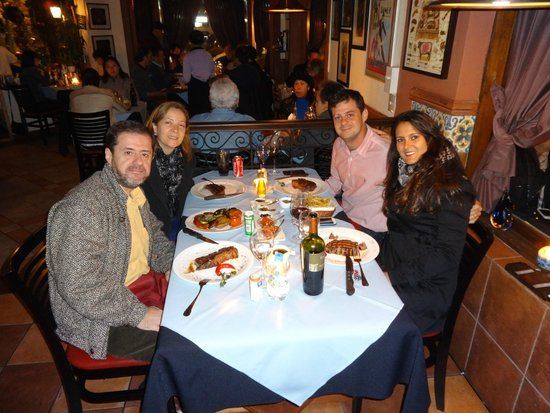 Libertango´s Restaurant: Jantar servido!