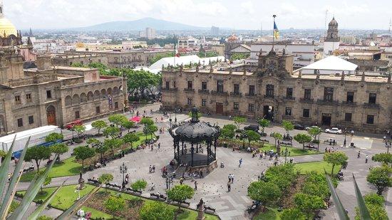 One Guadalajara Centro Historico: Vista desde la terraza