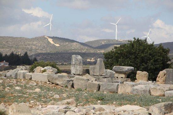 Palepaphos, Sanctuary of Aphrodite: виды комплекса