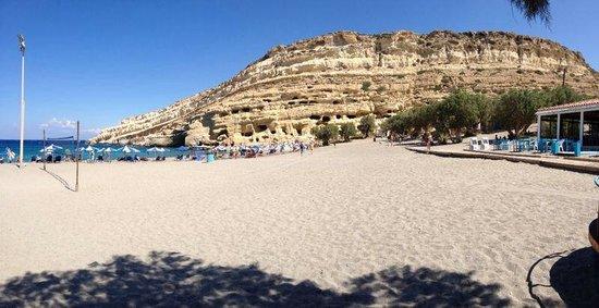 Matala beach: Spiaggia d matala