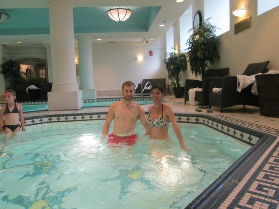 The Fairmont Palliser: this is the pool we had good time there some peoples how go to this hotel are not to educate