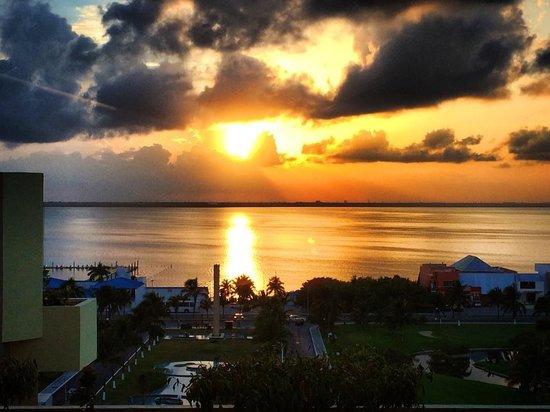 Paradisus Cancun: atardecer