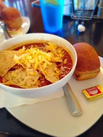 Sup: Chicken Tortilla.