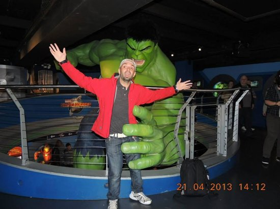 Madame Tussauds London : me atrapo hulk