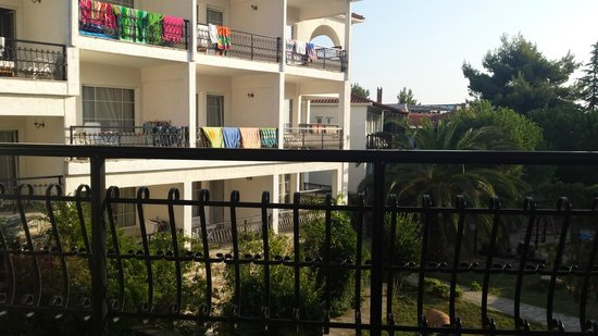 Alexander The Great Beach Hotel: Room with the sea view