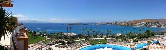 Kefaluka Resort : View From Main Restaurant