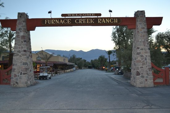 The Ranch at Death Valley : Ingesso Hotel