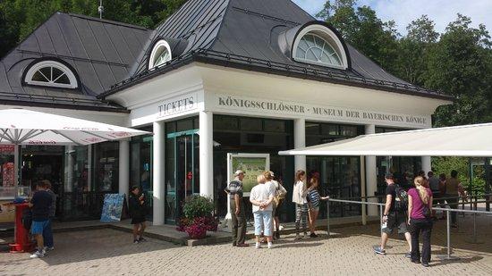 Schloss Hohenschwangau: Biglietteria