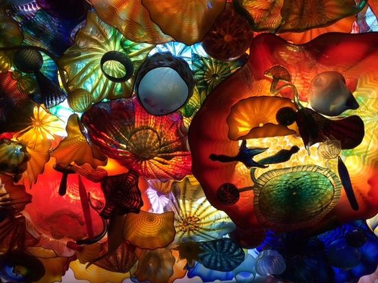 Franklin Park Conservatory and Botanical Gardens : Chihuly Sculpture