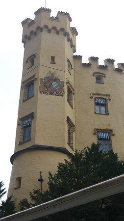 Schloss Hohenschwangau: dettagliod el castello