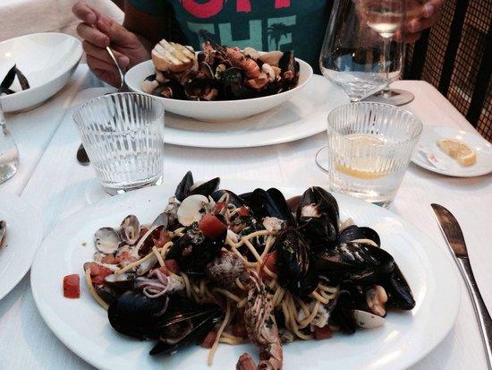 Ristorante al Gondoliere: Zuppa e spaghetti ... Top!