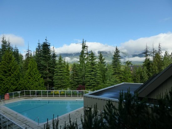 Wildwood Lodge On Blackcomb: View from our patio