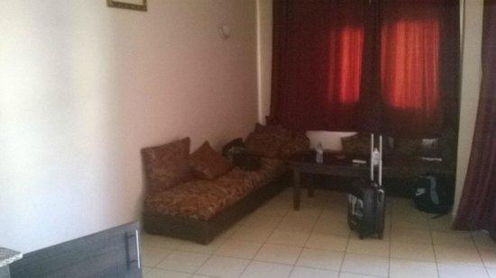 Assounfou Apart-Hotel: Coin salon