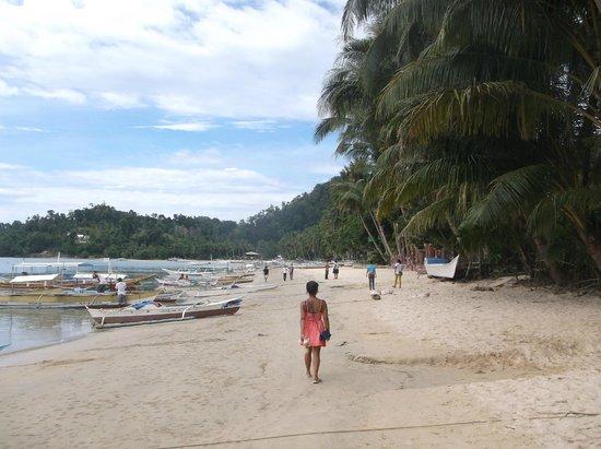 Beach Walk Picture Of El Dorado Sunset Resort Port Barton