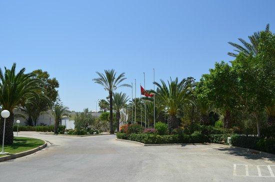Hotel Kanta: Hotel grounds