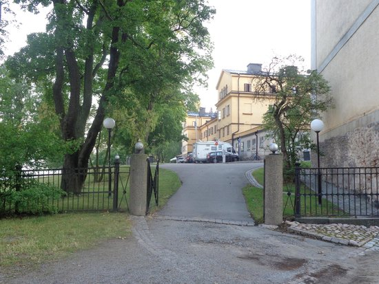 STF af Chapman & Skeppsholmen Hostel : hotel e jardim