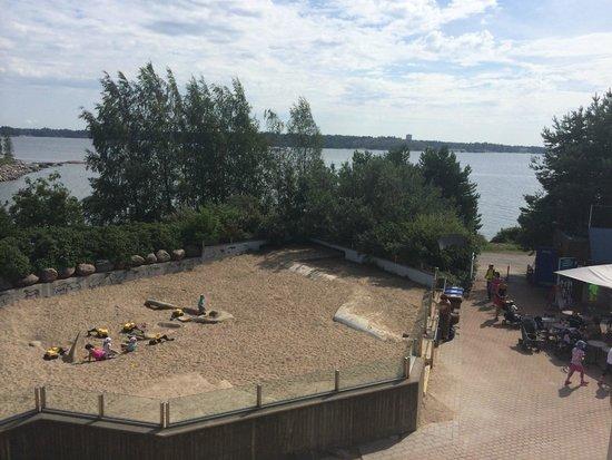 Helsinki Zoo: View from Bear's area