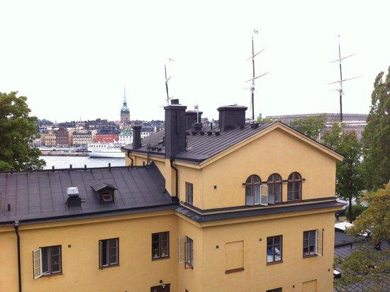STF af Chapman & Skeppsholmen Hostel : parte de tras do hostel