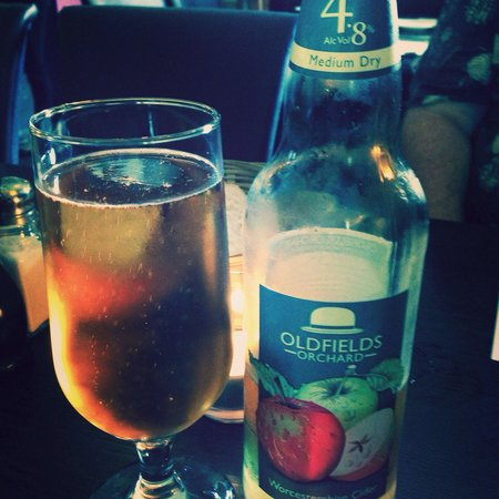 D'arcys at the station: The local cider I had