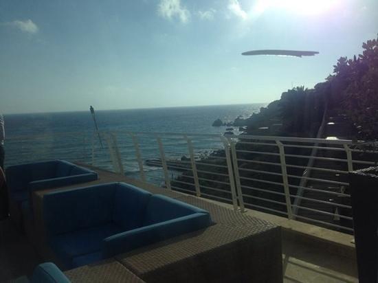Radisson Blu Resort & Spa, Malta Golden Sands: view from the essence restaurant terrace