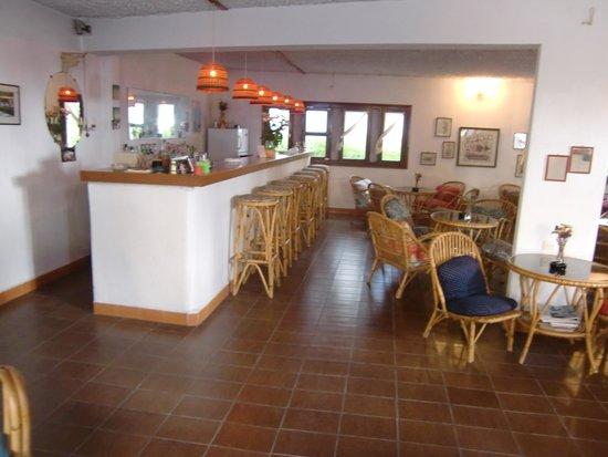 Pension Avra : Bar- und Frühstücksraum