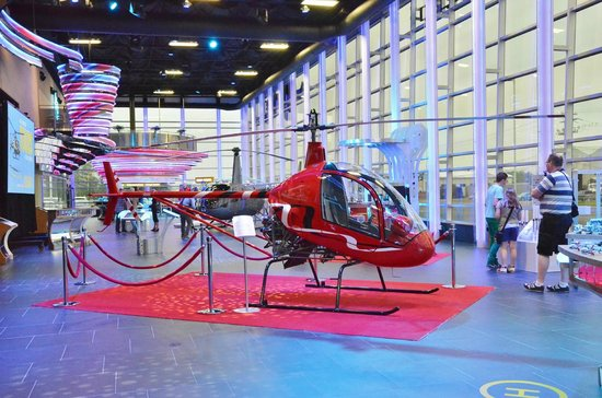 Complexe Capitale Helicoptere
