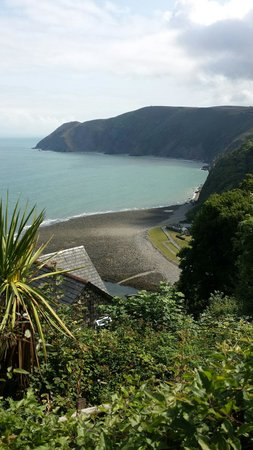 Lynton and Lynmouth Cliff Railway: View from the top