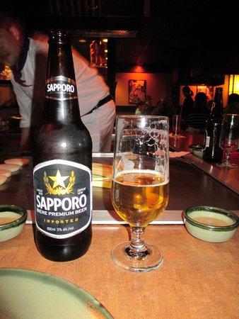 Japanese Village Restaurant: Cold Beer