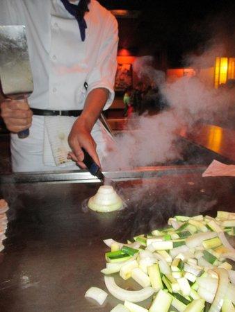 Japanese Village Restaurant: Onion Volcano