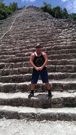 Ruinas de Coba: Captain Marky Mark at Coba