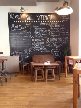 Soul Kitchen: Salón del restaurante