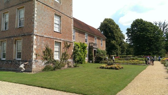 The Vyne: The house from the side - the tradesman entrance
