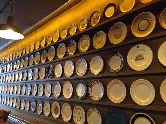 Brasserie Sixty6 : Bella collezione di piatti.