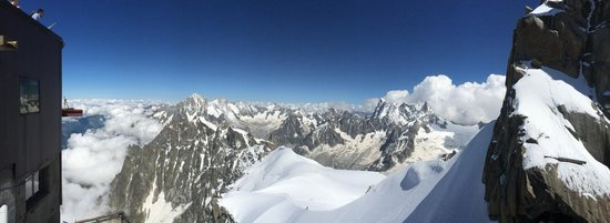 Mont Blanc : View from the top