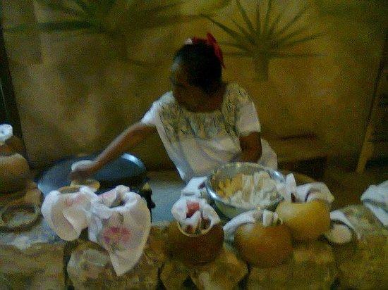 La Chaya Maya: tortillas echas a mano