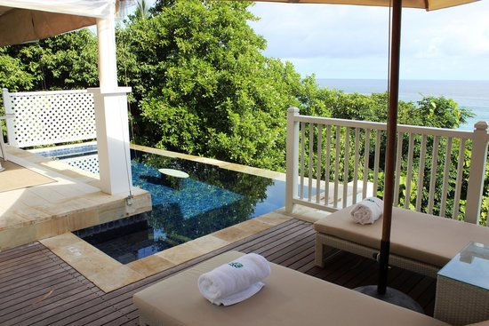 Banyan Tree Seychelles : Our own pool
