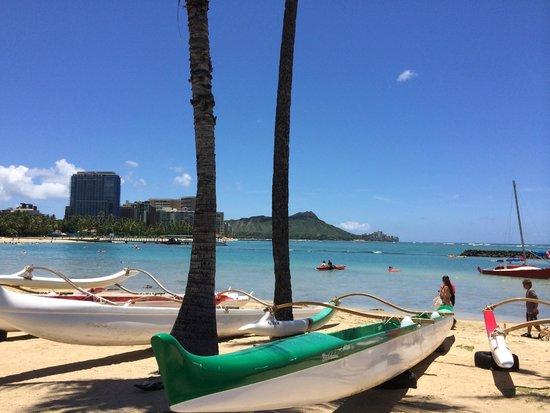 The Modern Honolulu: View of Diamond Head from Waikiki Beach